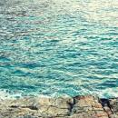 Ventimiglia – tramonto nella spiaggia delle uova